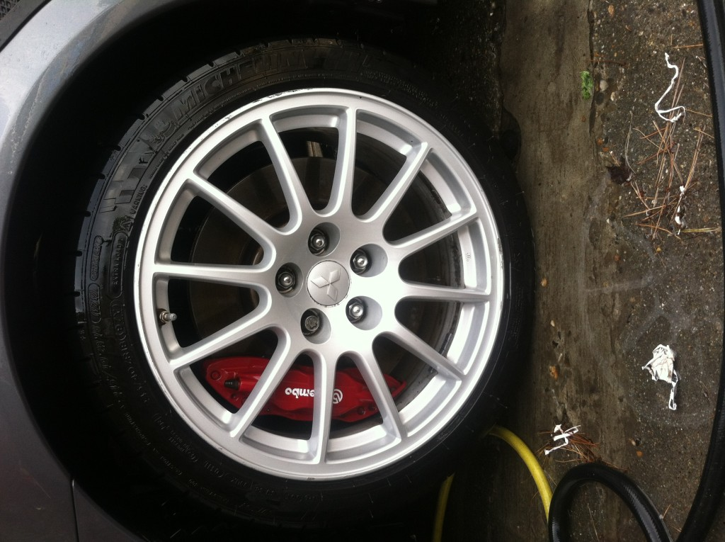 Mitsubishi Lancer Rim After
