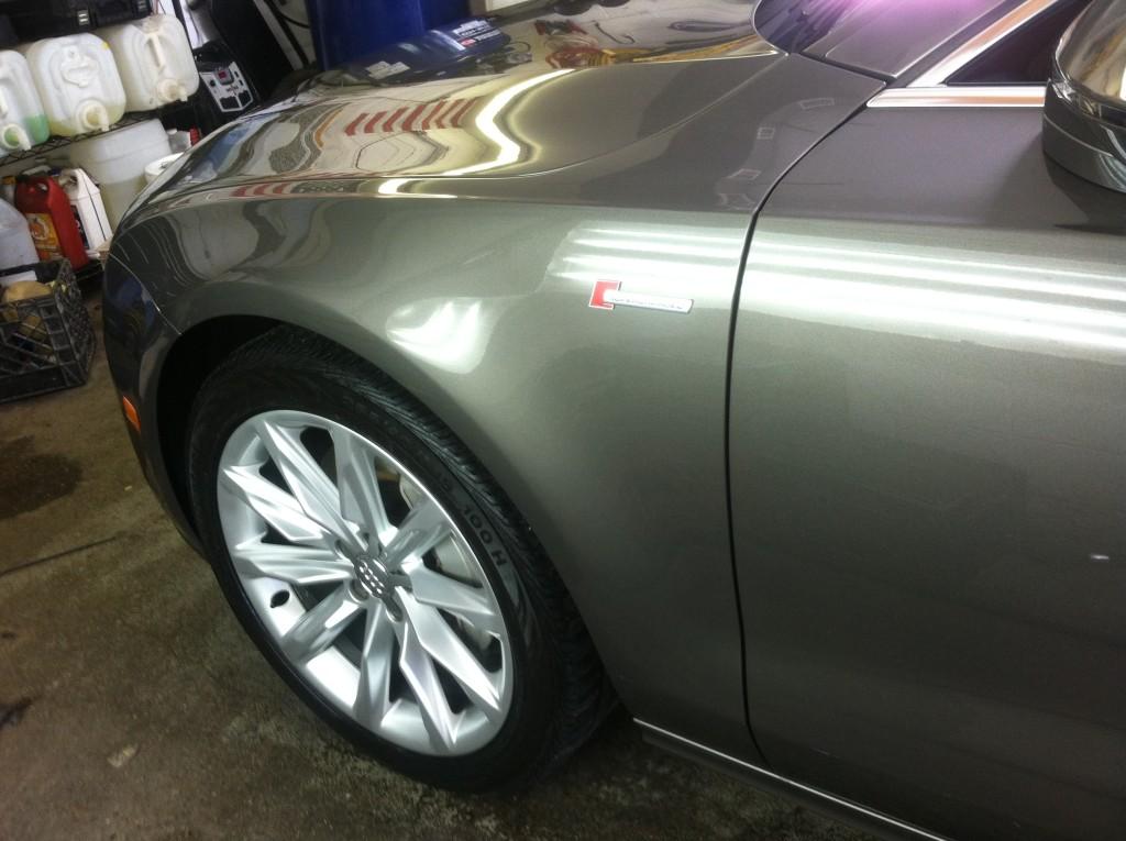 Audi A7 Exterior Side Shot