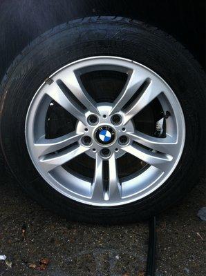 BMW X3 Rim After